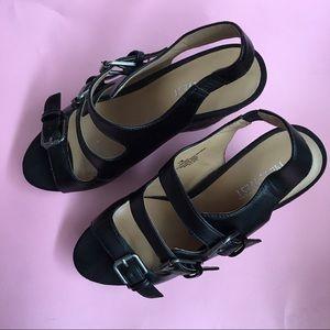 Nine West Shoes - Nine West Black Platform Wedges